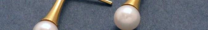 Kollektion Stahl-Gold-Zuchtperle