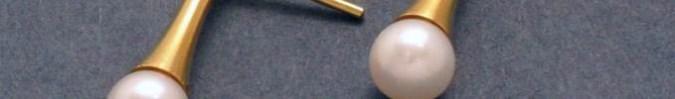 Kollektion Stahl, Gold und Zuchtperle