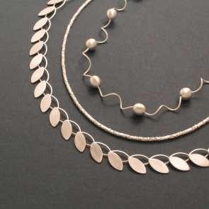 Silber: Ketten und Colliers