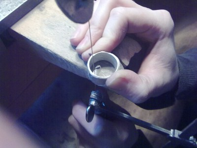 gusskanal-ring-silber