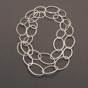 schmal, echtes Silber,auserwählt, modern
