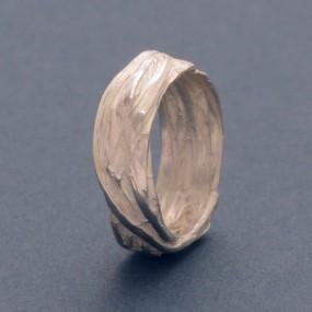 besonderer Silber-Ring