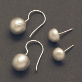 Allergie-freie Ohrringe aus Silber