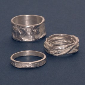besondere Ringe aus Silber die für Allergiker geeignet sind